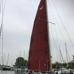Bruin-tanbark grootzeil - Rossiter Pintail - zeilmakerij m-sails